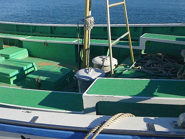 小型船舶・ボート用デッキマット
